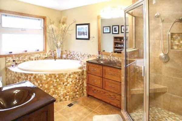 Norwalk Master Bathroom